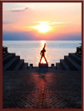 Freddie Mercury Farewells The Sunset... Montreaux, Switzerland