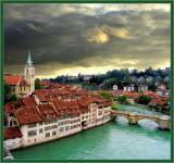 Rainy Morning In Bern, Switzerland