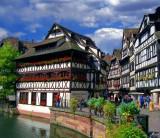 Medieval Houses in Strasburg, France