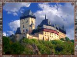 Fairy Tale Karlstein Castle, Karlstein, Czechia