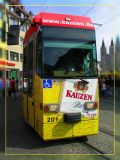 Beer Impaired Tram, Wurzburg, Germany