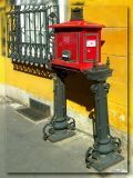 Postal Box, Budapest ,Hungary