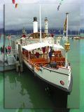 Cruise Steam Ship, Lindau, Germany