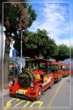 Train on Lake Maggiore, Italy