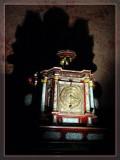 Old Clock in Munchen Residenz, Germany
