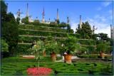 Gardens Of Barromeo Castle, Italy