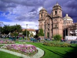 Cuzco Cathedral Before Thunderstorm