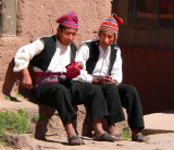 Married Man and Official, Taquile Island, Titicaca Lake