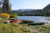 Boats on Twin Lakes - 2006