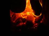nog later de ringen in de gloeiende kolen