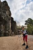 Startled at Angkor Thom