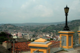 View of the downtown of Tegucigalpa from Parque La Leona.