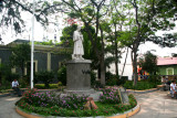 In front of the Iglesia de San Francisco, is the quaint Parque Valle named after Jose Cecilio Valle (1780-1834).