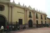 Façade of the National Gallery of Art in Tegucigalpa.