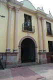 Entrance of the National Gallery Art.  It was built as a convent in 1654, and, later, it became Honduras University.