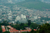 View of the downtown of Tegucigalpa from Parque Naciones Unidas (United Nations) at El Picacho.