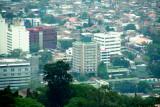 View of the Honduran Maya Hotel (where I stayed) from Parque Naciones Unidas.