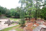 Some of the landscaping in Parque Naciones Unidas.