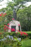 Statue of Confucius in Parque Naciones Unidas.