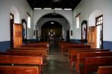 Interior of the Chapel of Suyapa.