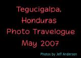 Tegucigalpa, Honduras cover page.