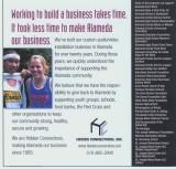 Garrett and Emily Lewis, taken XC 2005 season...as seen in Alameda Magazine