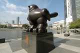 Bird by Fernando Botero @ Singapore River