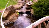 Hofstra University Garden Waterfall