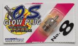 O.S. Glow Plug No.8