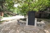 Stelae telling story of Wang Bao-Chan