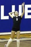 2007 Mohawk Girls Volleyball vs Carey