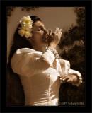 White Dress Hula