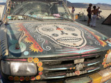 One of many art cars