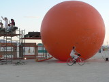 An orange ball = why not?