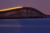 Copano Bay Bridge In Twilight 52033