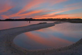 Tidal Pool At Sunset 52497