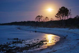 Dauphin Island Under Moonlight 56080