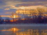 Cataraqui River Sunrise 20070502