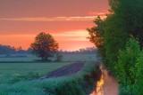 Field Ditch At Sunrise 20070607