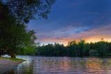 Mississippi River Sunset 20070712