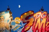Moon Over Funhouse Sign 67009