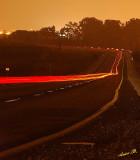 01523 - Road at night / Rd. 46 - Israel