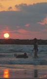 01816 - Sunset / Tel-Aviv beach - Israel