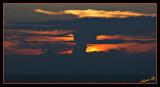 02652 - Sunset (or a nuclear bomb) / Tel-Aviv - Israel
