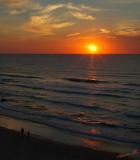 03105 - Sunset / Herzeliya beach - Israel