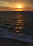03643 - Sunset / Netanya beach - Israel