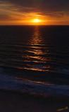 03656 - Sunset / Netanya beach - Israel