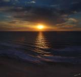 03616-3642 - Sunset / Netanya beach - Israel