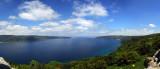 04446-4458 - The end of the Bosporus at the Black sea (panorama) / Anadolkavaði castle - Anadolo Kavaği - Turkey