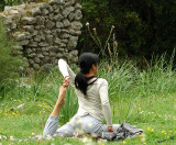 06283 - Some Yoga between the antiquities... / Olympos - Antalya - Turkey